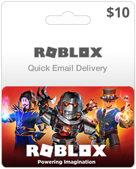 10 Roblox Gift Card Email Delivery