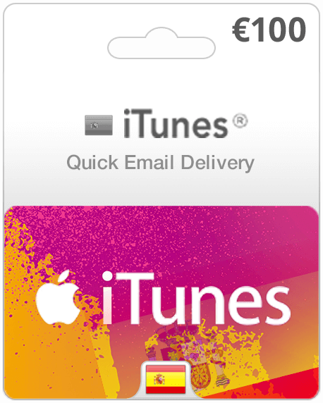 Spain Itunes Gift Cards Instant Email Delivery