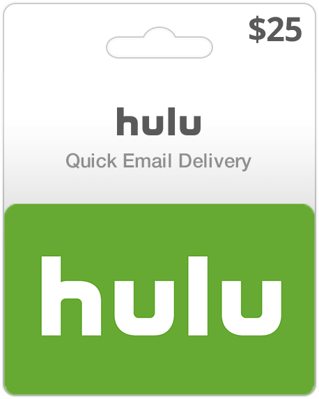 Hulu Gift Cards   Instant Email Delivery