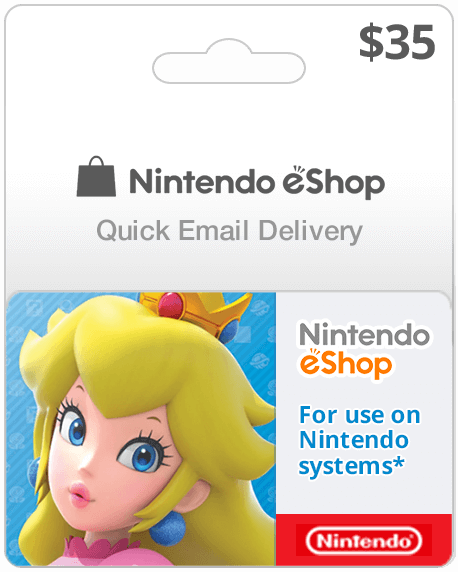 $35 USA Nintendo Eshop for Wii U and 3DS | Instant Email Delivery