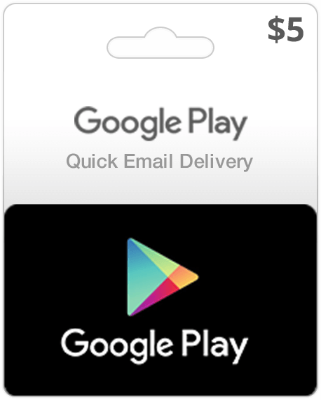 Google Play Gift Cards Instant Email Delivery