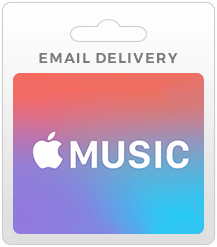 Apple Music Gift Cards - Email Delivery