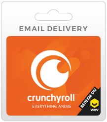 Crunchyroll Gift Cards - Email Delivery