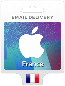 France iTunes Gift Cards - Email Delivery