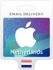 Netherlands iTunes Gift Cards - Email Delivery