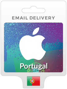 Portugal iTunes Gift Cards - Email Delivery