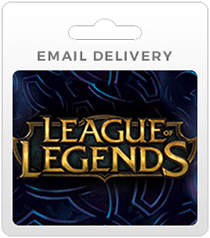 League of Legends Gift Cards - Email Delivery
