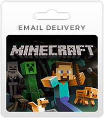 Minecraft Gift Cards - Email Delivery