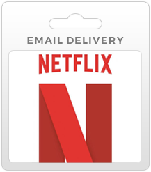 Netflix Gift Card - Email Delivery
