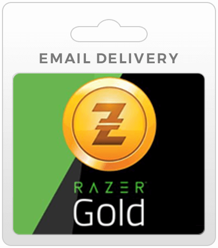 Razer Gold Game Cards - Email Delivery